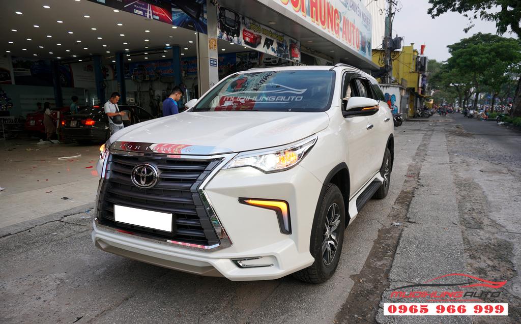 Lắp Bodykit Fortuner 2018 mẫu Lexus 570