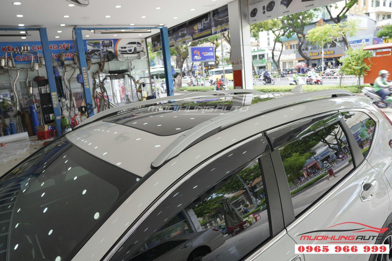 Lắp thanh giá nóc cao cho Honda CRV 2019 giá rẻ 04