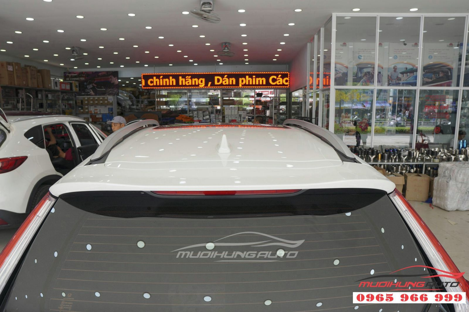 Lắp thanh giá nóc cao cho Honda CRV 2019 giá rẻ 06
