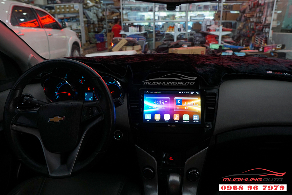 Màn hình Dvd theo xe Chevrolet Cruze chính hãng tại tphcm
