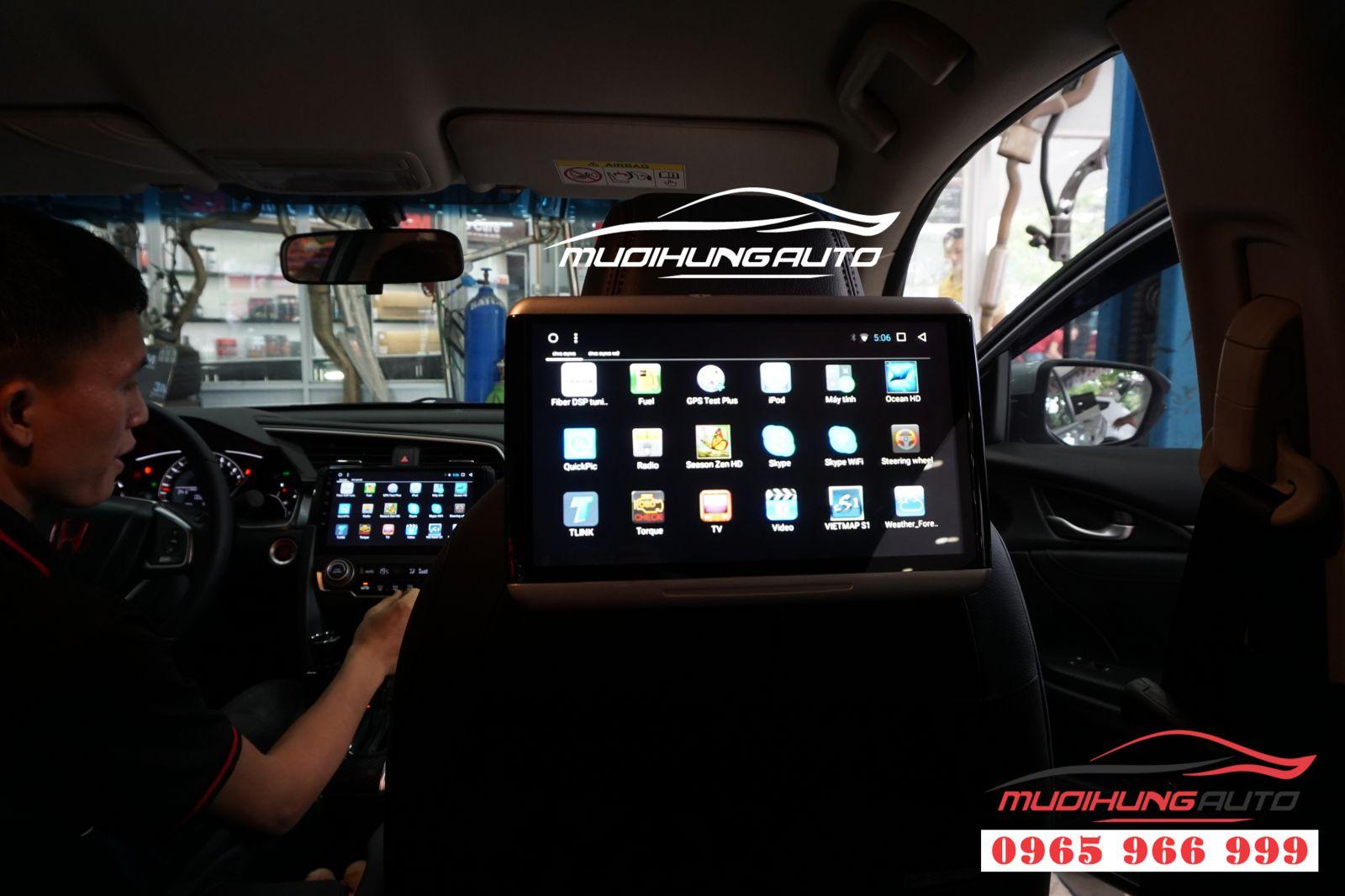 Màn hình Gối đầu Android Honda Civic 2019 giá rẻ