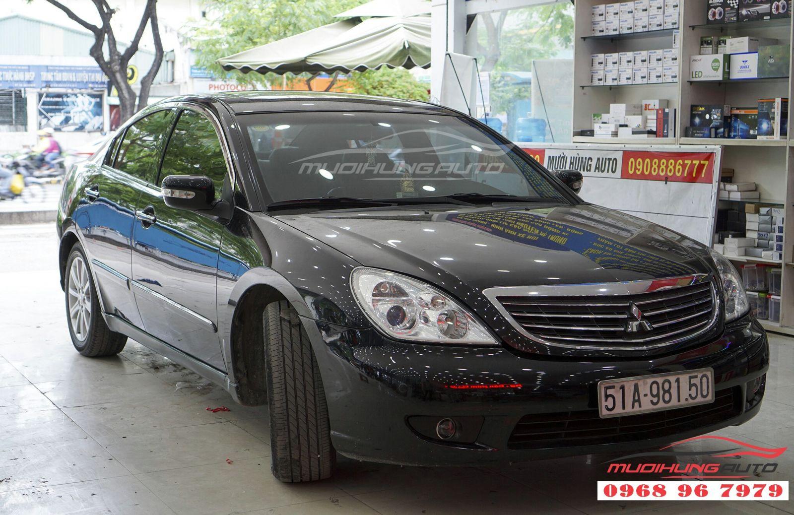 Mitsubishi Galant độ pô uy tín tại TPHCM 04