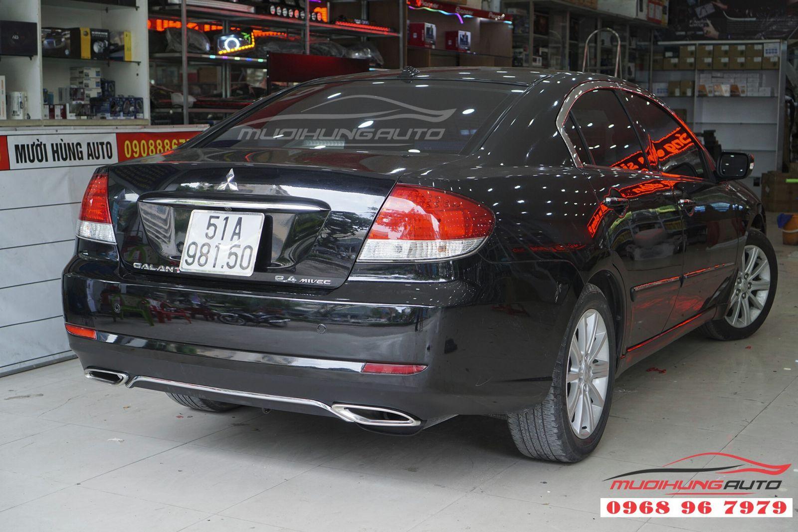 Mitsubishi Galant độ pô uy tín tại TPHCM 03
