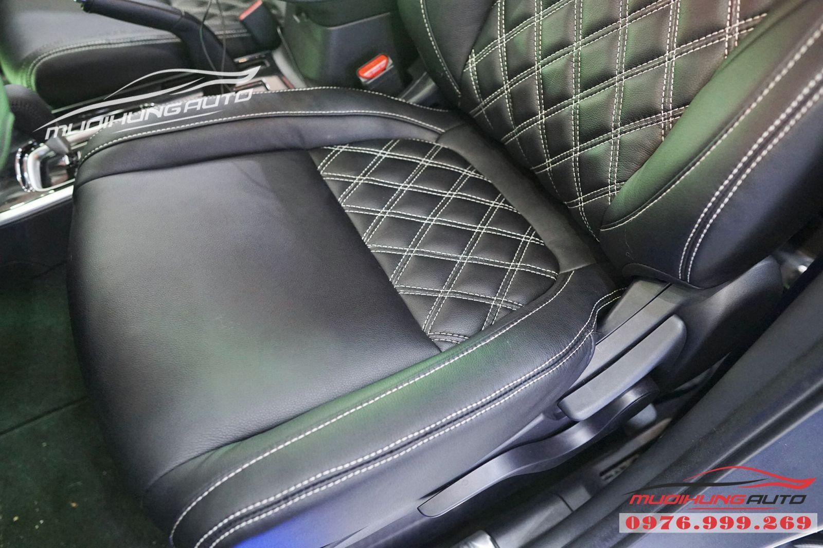 Mitsubishi Outlander bọc ghế cao cấp giá rẻ tại TPHCM 03