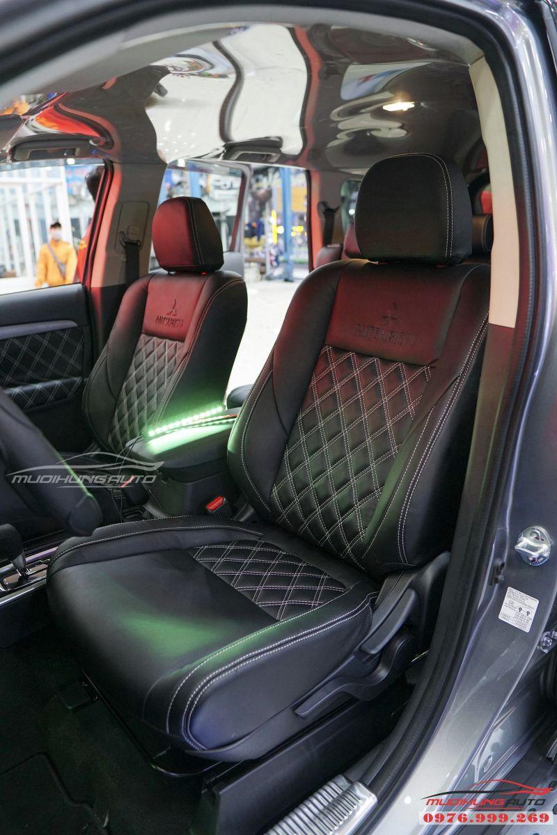 Mitsubishi Outlander bọc ghế cao cấp giá rẻ tại TPHCM 04