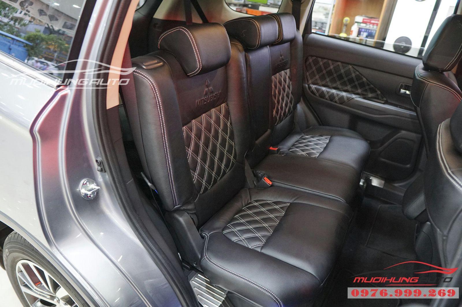 Mitsubishi Outlander bọc ghế cao cấp giá rẻ tại TPHCM 05