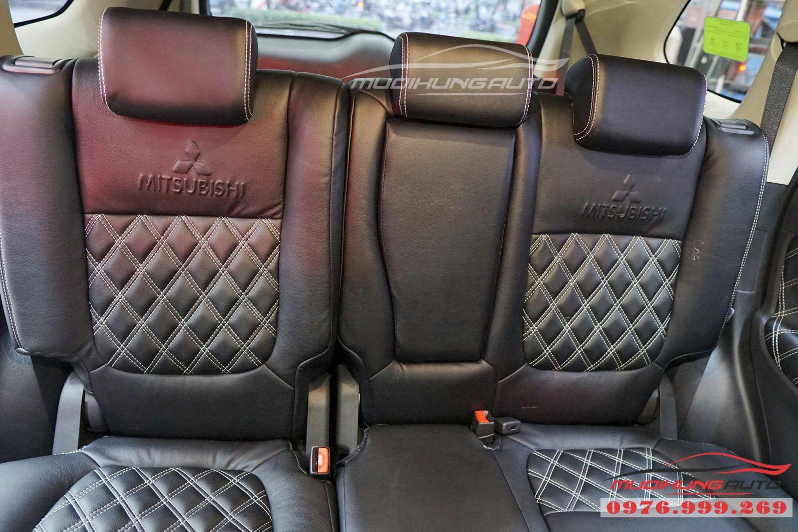 Mitsubishi Outlander bọc ghế cao cấp giá rẻ tại TPHCM 07