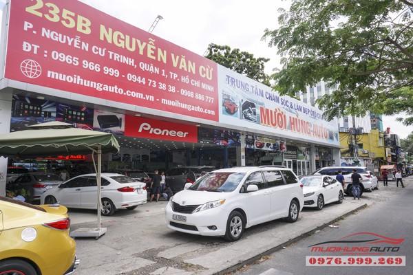 Nissan Murano bọc trần cao cấp tại TPHCM 09