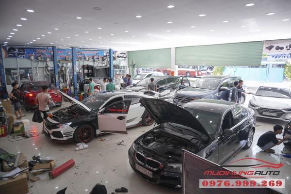 Nissan Murano bọc trần cao cấp tại TPHCM 10