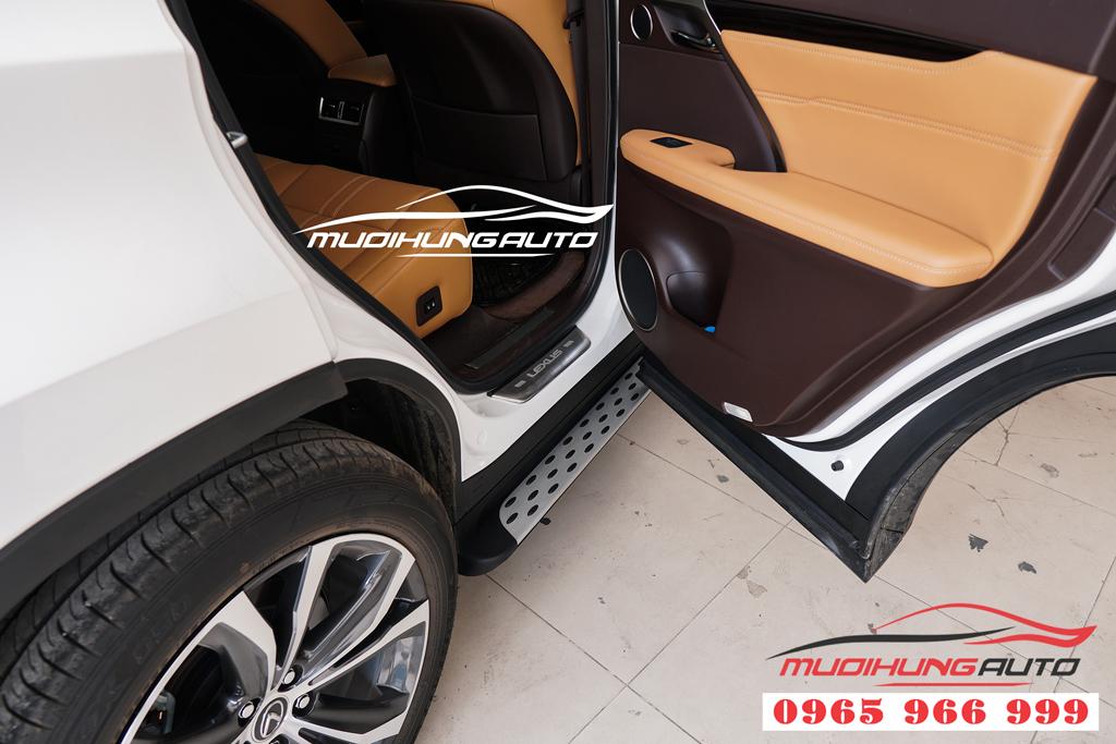 Nẹp bước chân chống trầy Lexus RX350 Đời 2018-2019