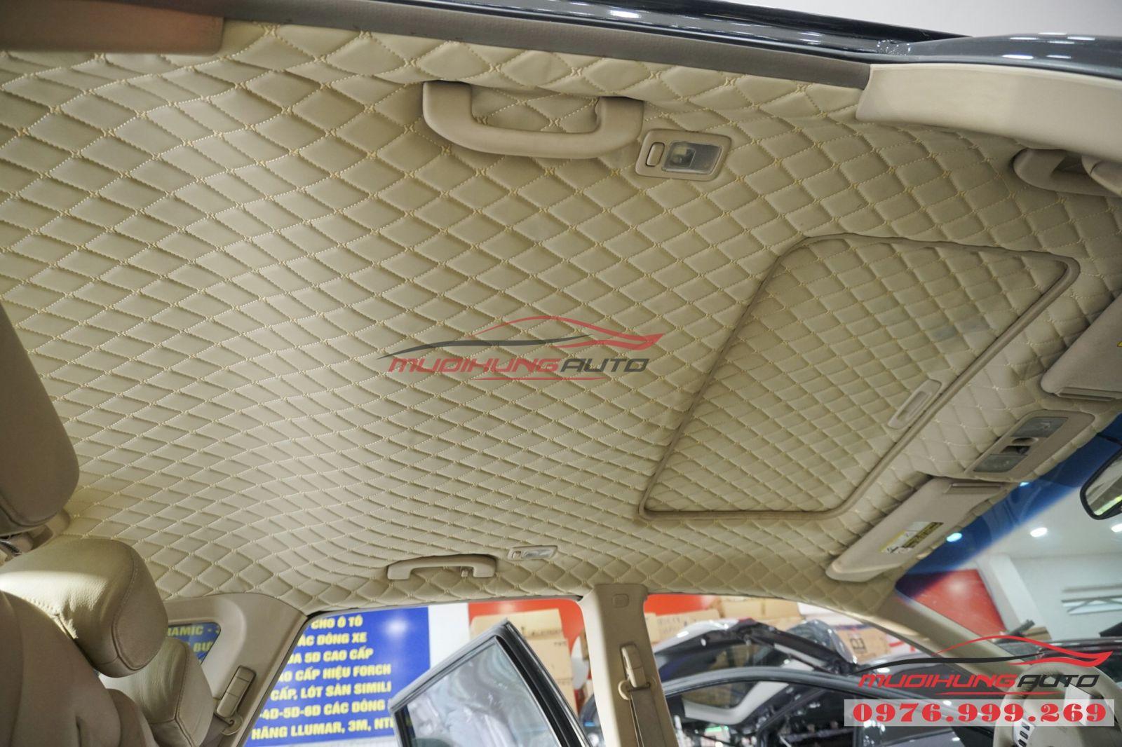 Nissan Murano bọc trần cao cấp tại TPHCM 01