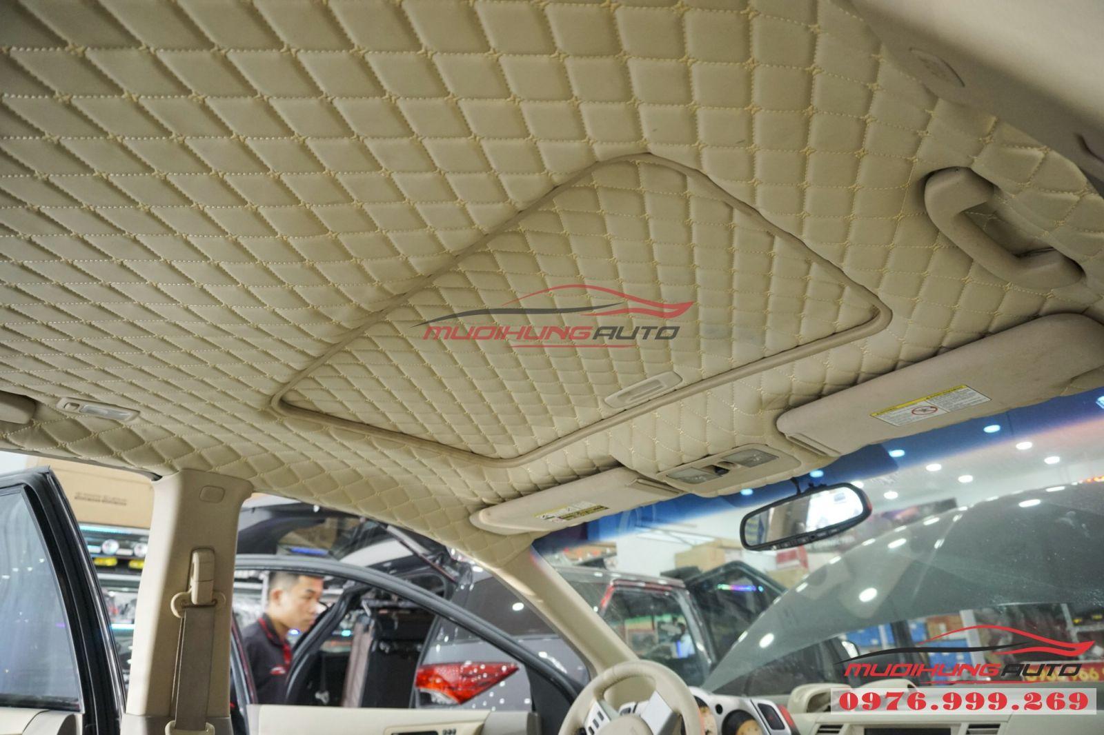 Nissan Murano bọc trần cao cấp tại TPHCM 02