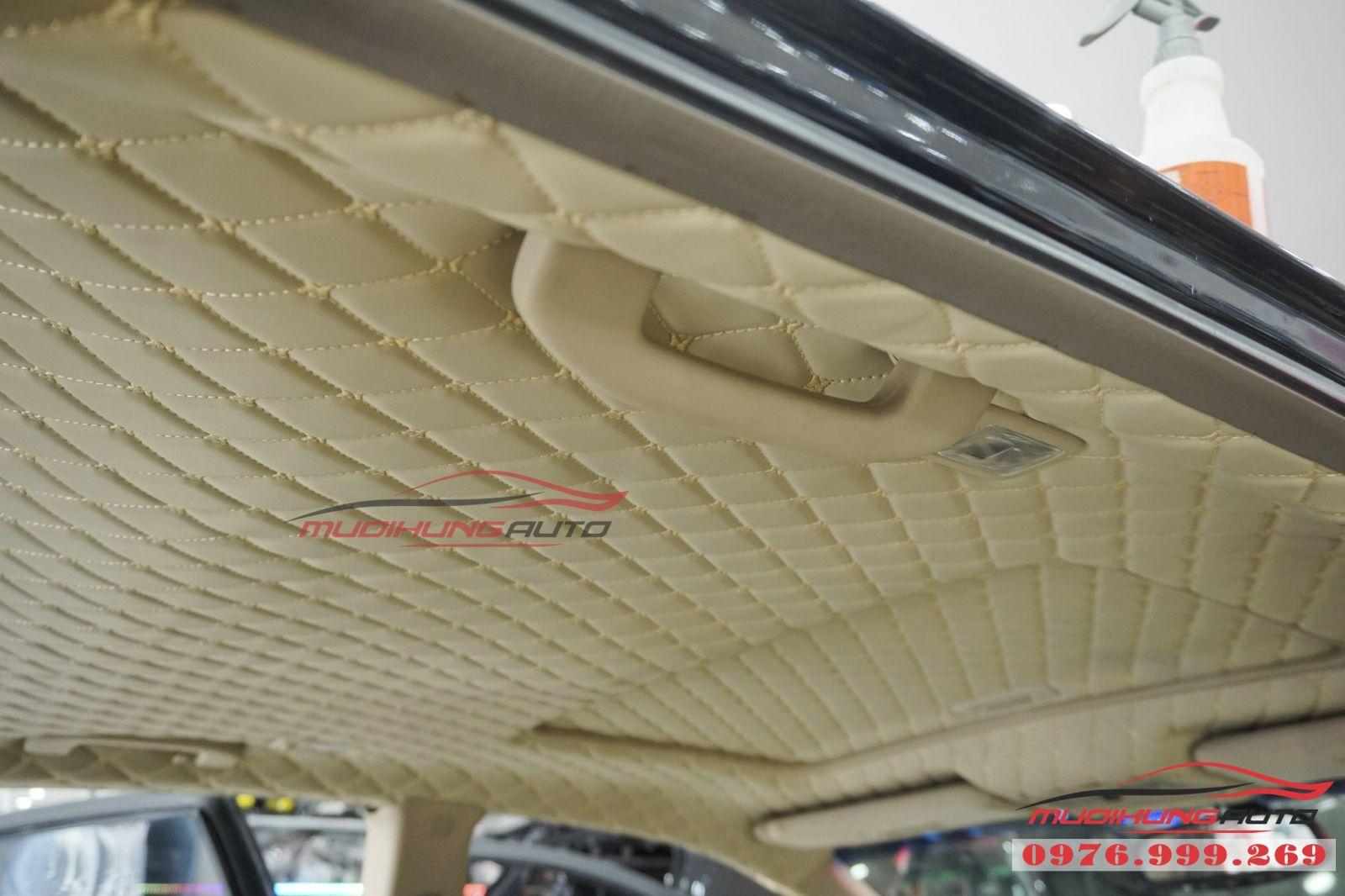 Nissan Murano bọc trần cao cấp tại TPHCM 03