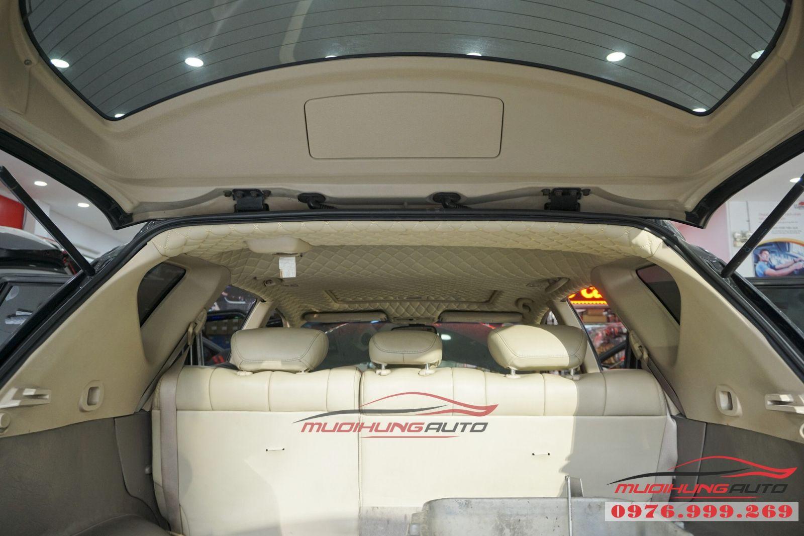 Nissan Murano bọc trần cao cấp tại TPHCM 04