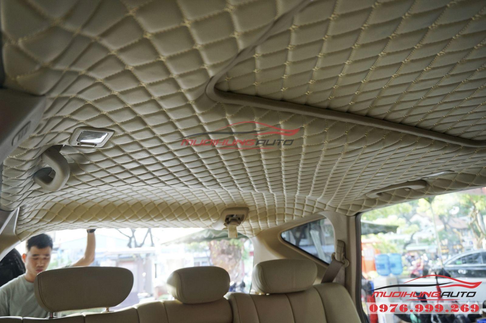 Nissan Murano bọc trần cao cấp tại TPHCM 05