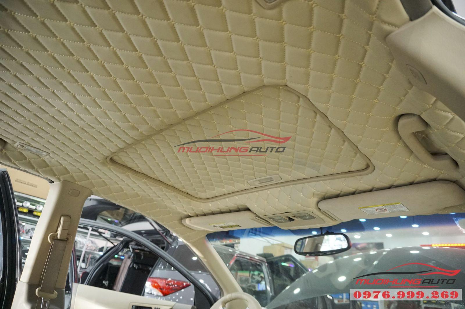 Nissan Murano bọc trần cao cấp tại TPHCM 07