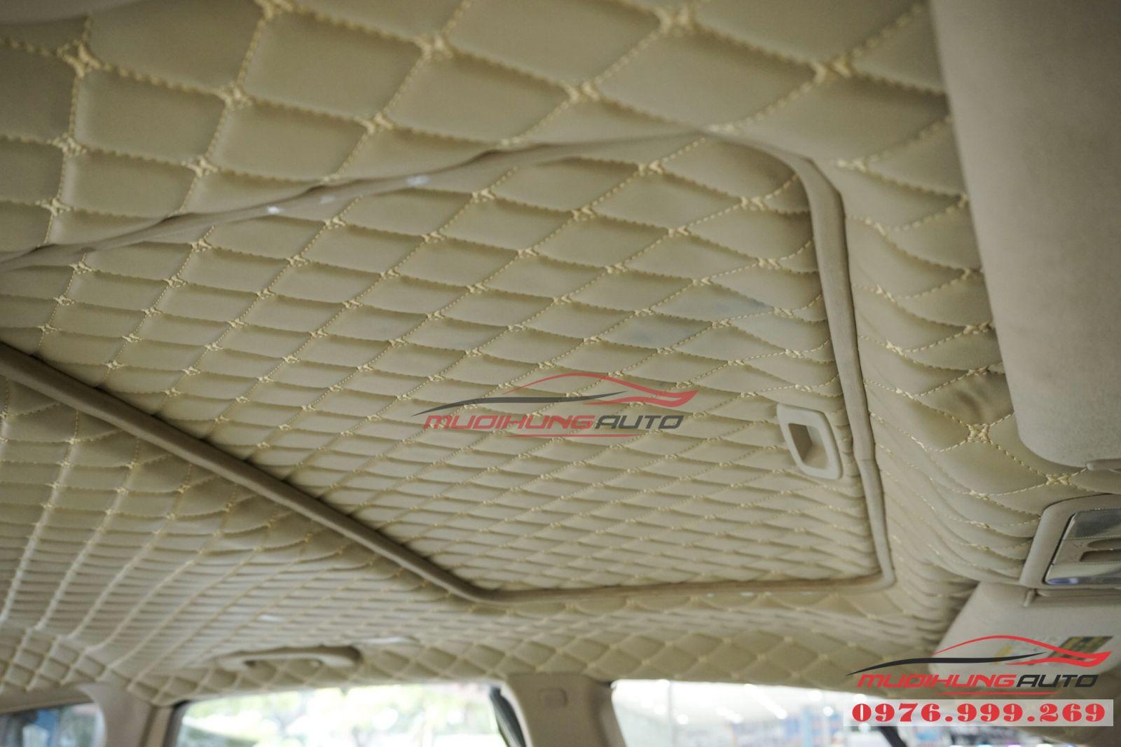 Nissan Murano bọc trần cao cấp tại TPHCM 08
