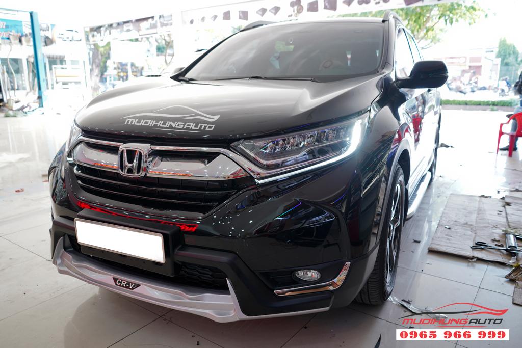 ốp cản trước sau Honda Crv 2019 chính hãng 07