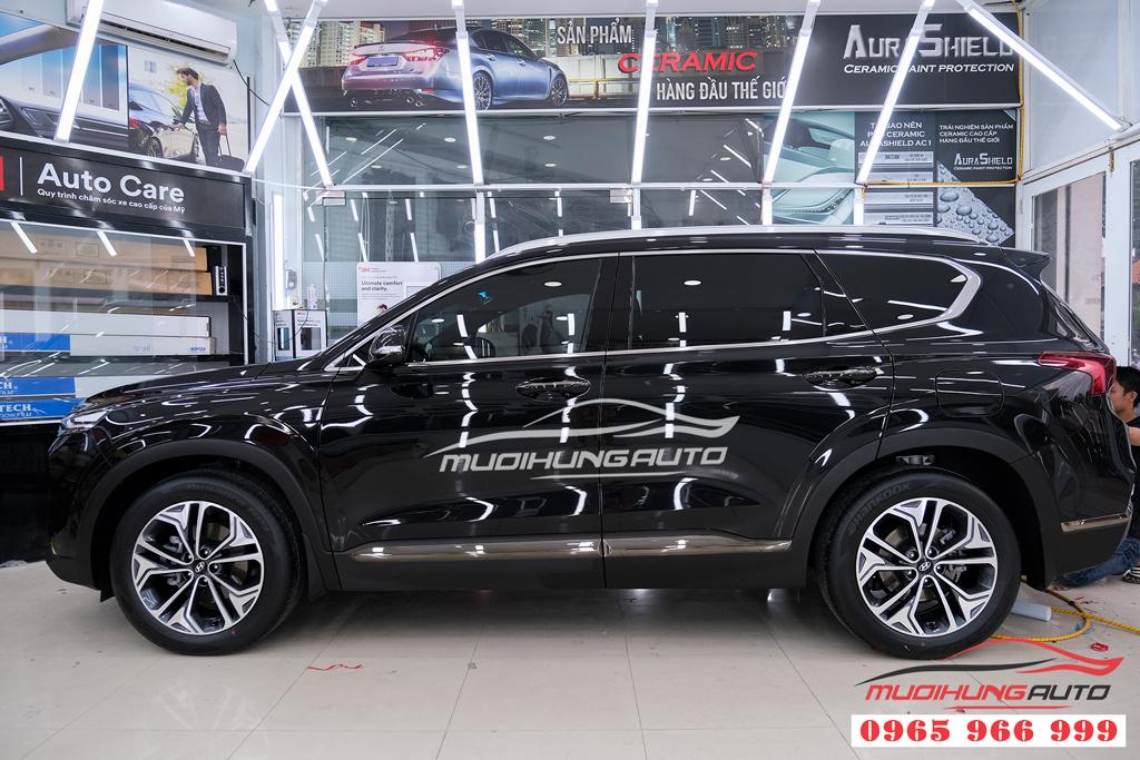 Phủ Ceramic bảo vệ sơn Hyundai Santafe 2019 chuyên nghiệp