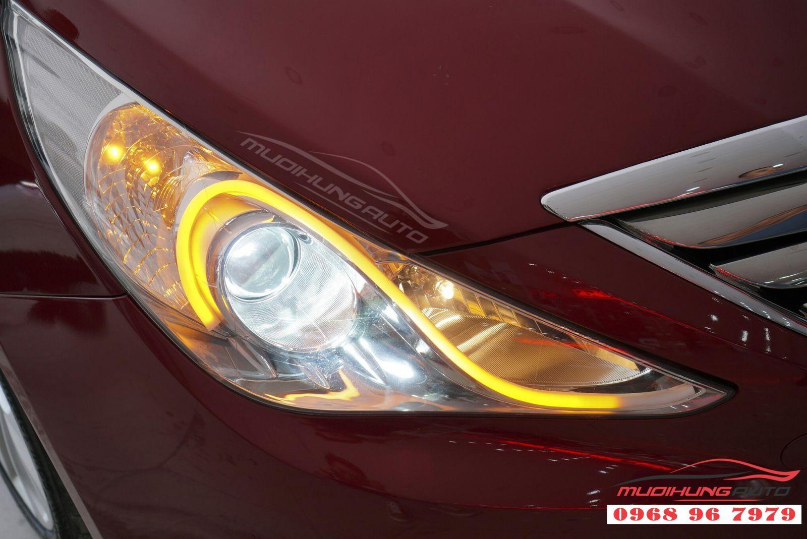 Sonata 2011 sắc sảo hơn với độ LED mí Audi 08
