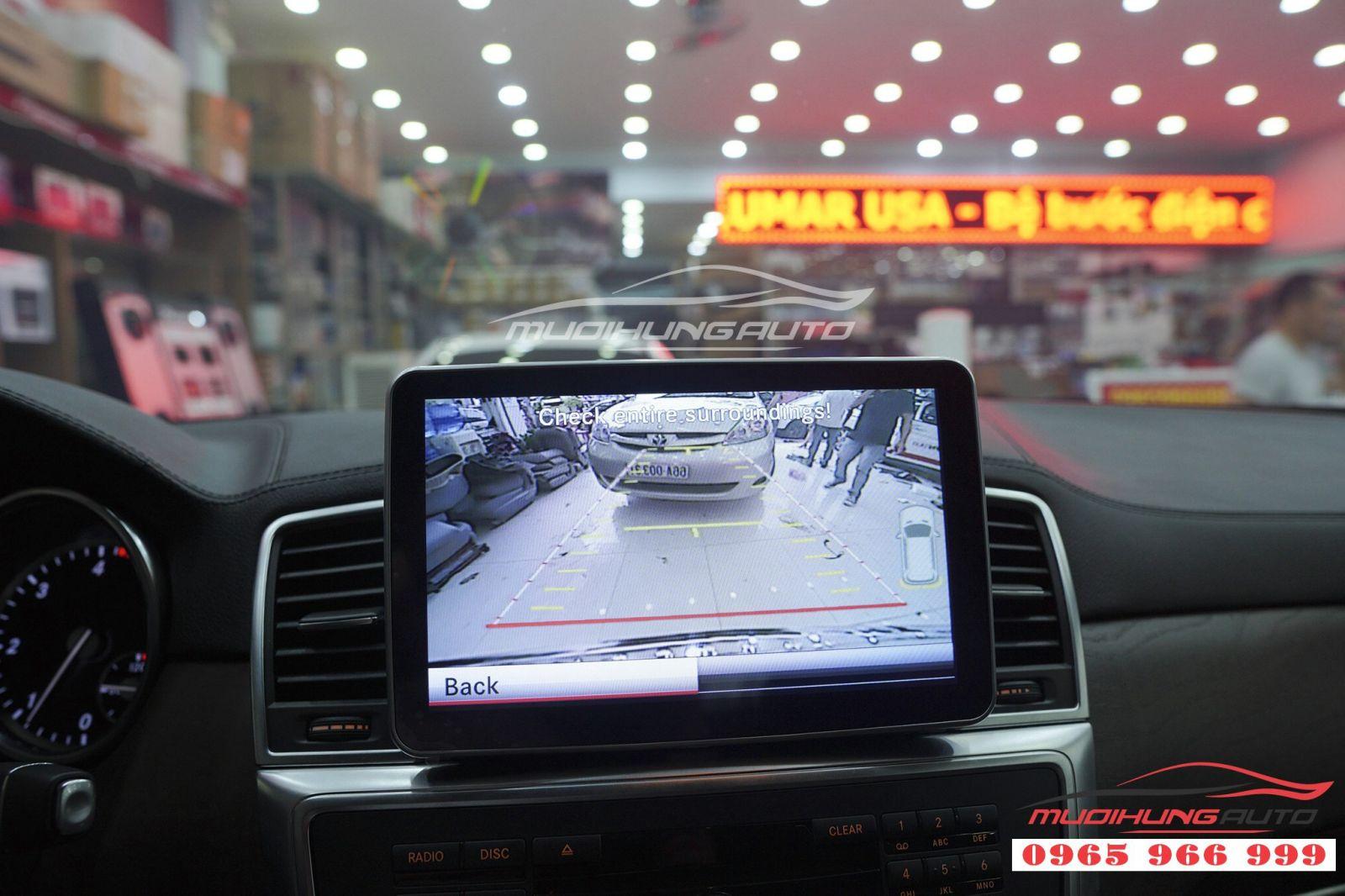 Thay DVD Android chính hãng cho Mercedes GLS 04