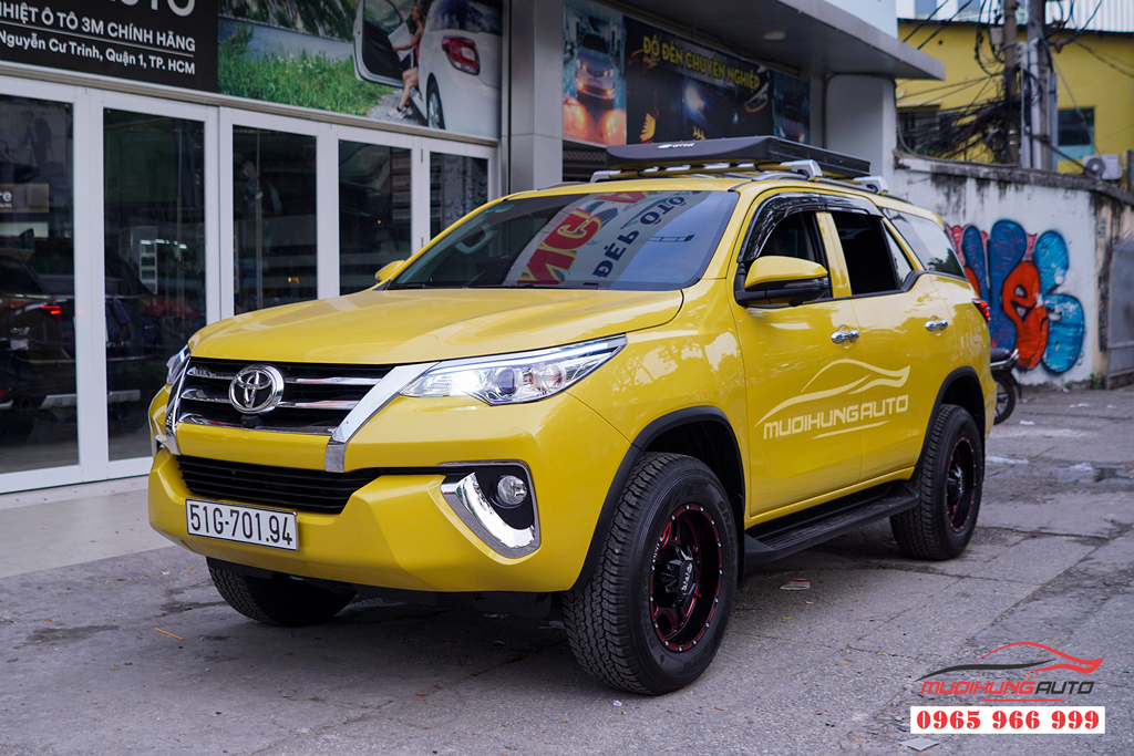 Thay Mâm Đúc thể thao Toyota Fortuner 2019 01