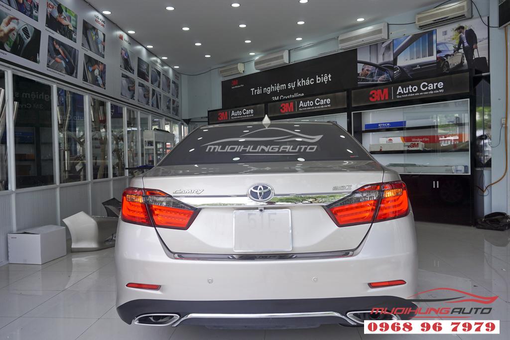 Toyota Camry 2.0 Độ thành Lexus Đẳng cấp 05