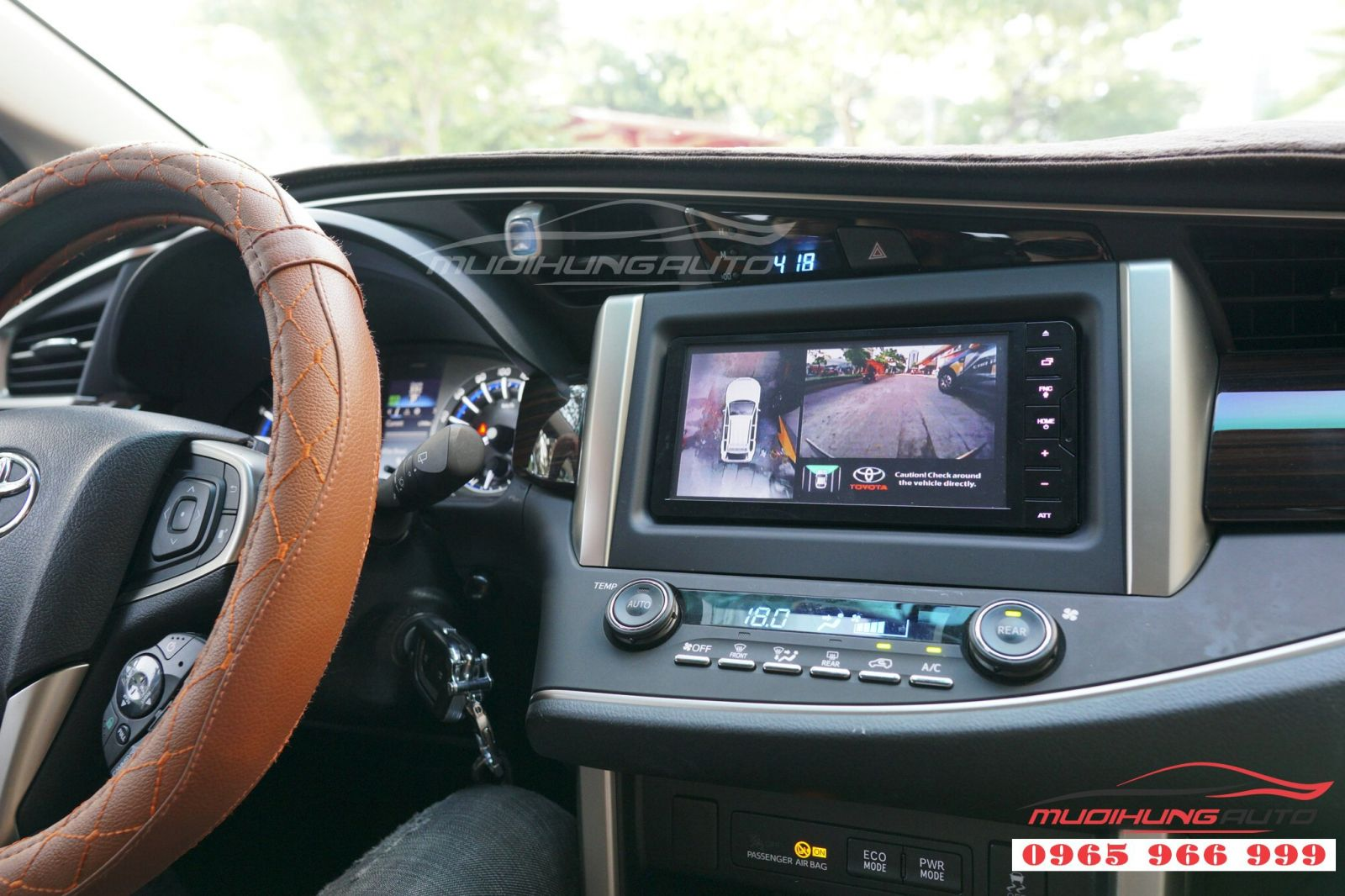 Toyota Innova thay camera 360 panorama Hàn Quốc 01