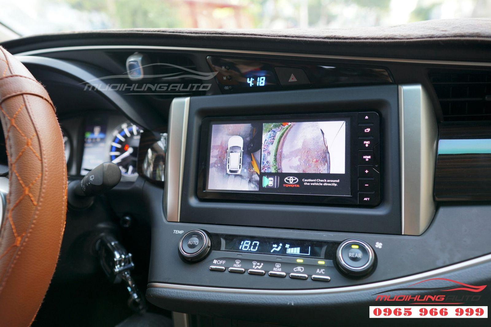 Toyota Innova thay camera 360 panorama Hàn Quốc 02