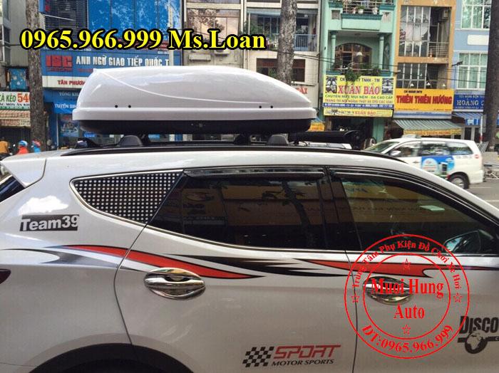 Baga Xe Hyundai Santafe Chính Hãng 01