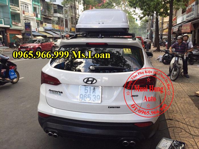 Baga Xe Hyundai Santafe Chính Hãng 03