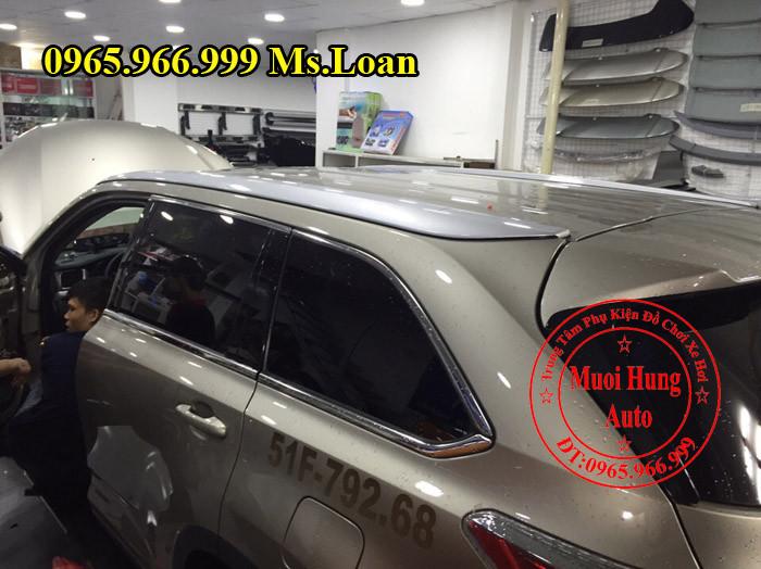 Baga Toyota Highlander 2016 Chính Hãng 03