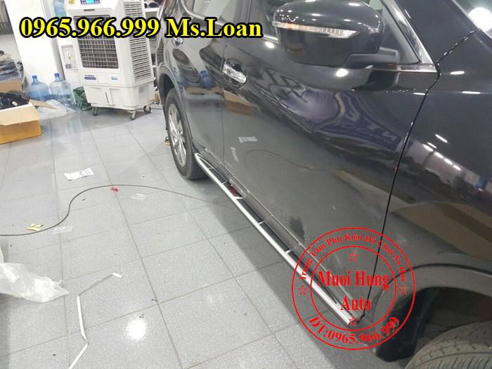 Bệ Bước Chân Nissan X Trail 2016 Chính Hãng 04