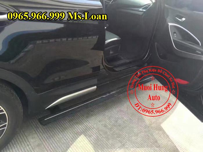 Bệ Bước Điện Chính Hãng Xe Hyundai Santafe 04