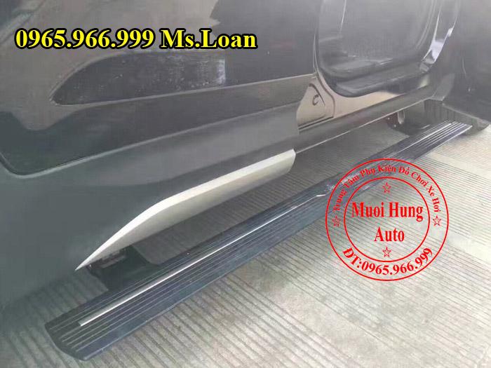 Bệ Bước Điện Chính Hãng Xe Hyundai Santafe