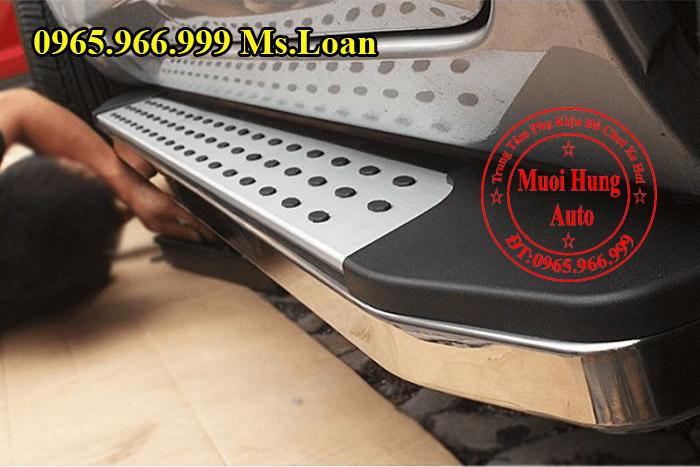 Bệ Bước Mazda CX5 Kiểu Chấm Bi Tròn