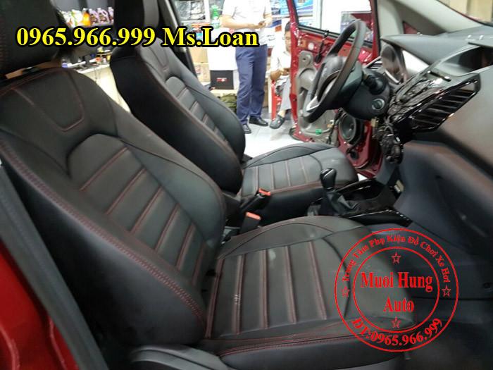 Bọc Ghế Da Cao Cấp Xe Ford Ecosport