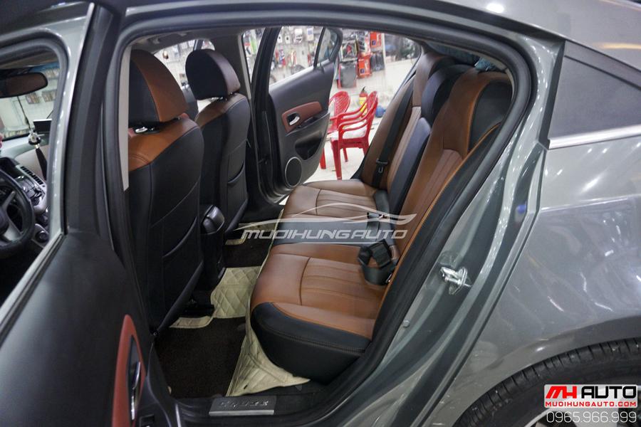Bọc Ghế Da Chevrolet Cruze Cao Cấp 09