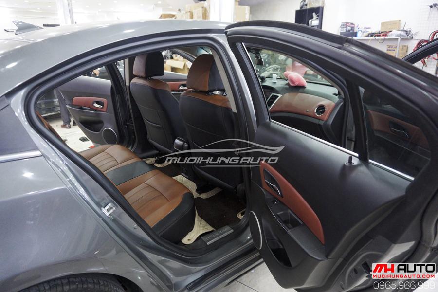 Bọc Ghế Da Chevrolet Cruze Cao Cấp 10
