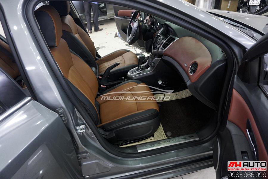 Bọc Ghế Da Chevrolet Cruze Cao Cấp 11