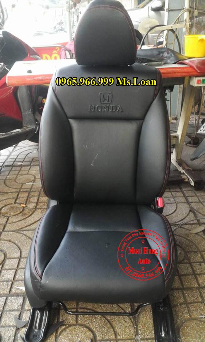 Bọc Ghế Da Xe Honda City Tại Tphcm 03