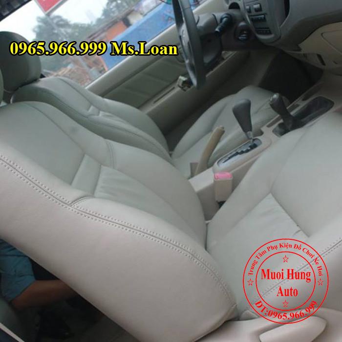 Bọc Ghế Da Xe Toyota Fortuner Tại Tphcm 01