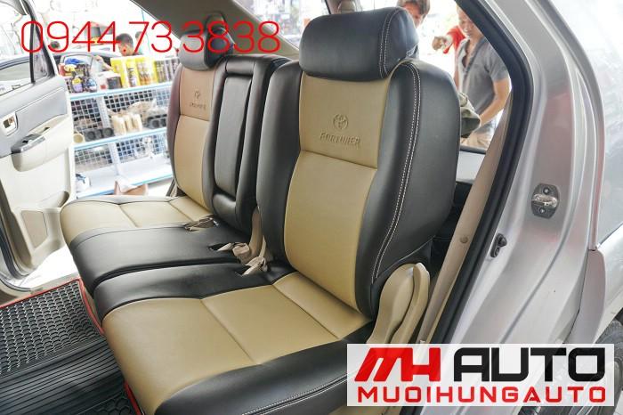 Bọc Ghế Da Cho Toyota Fortuner Tại Tphcm 03