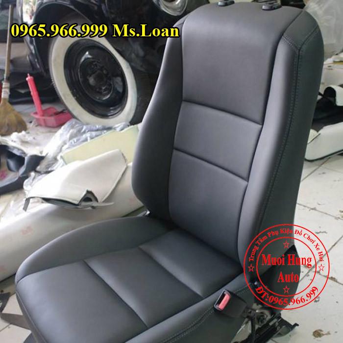 Bọc Ghế Da Toyota Highlander Tại Tphcm