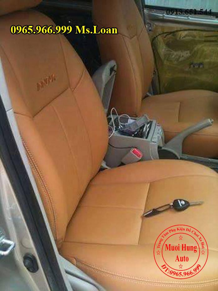 Bọc Ghế Da Xe Toyota Innova Tại Tphcm