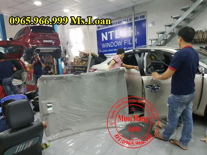 Bọc Trần Cho Xe Toyota Vios 2015, 2016