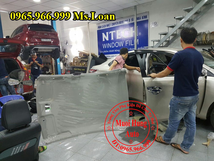 Bọc Trần Cho Xe Toyota Vios 2015, 2016 01