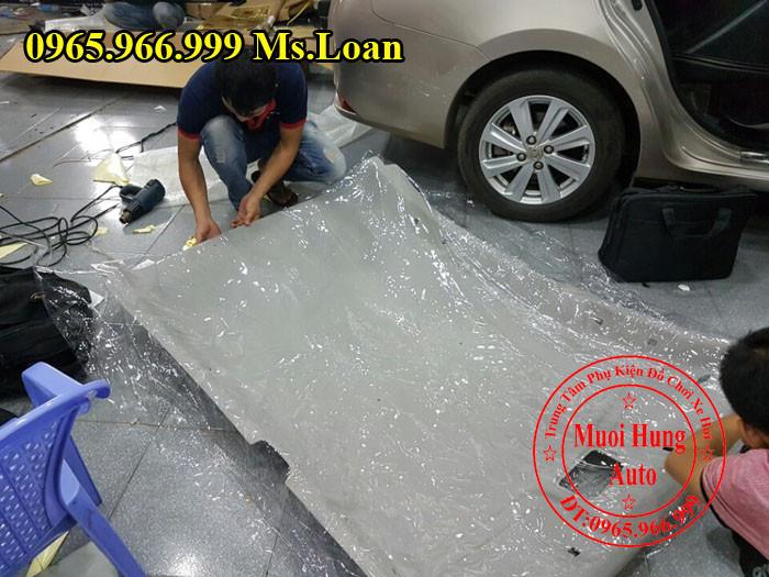 Bọc Trần Cho Xe Toyota Vios 2015, 2016 03