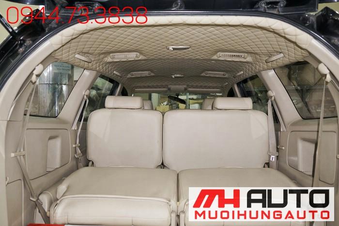 Bọc Trần Da 5D Toyota Innova Giá Rẻ 04