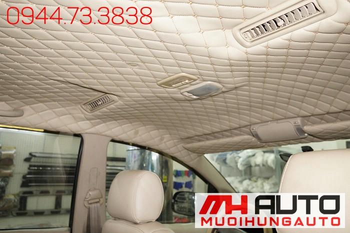 Bọc Trần Da 5D Toyota Innova Giá Rẻ 03